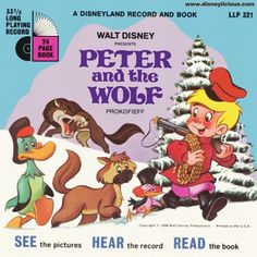 Walt Disney Presents Peter and the Wolf by Disneyland Records Music Lesson Plans, Music Lessons, Piano Lessons, Hanna Barbera, Walt Disney, Disneyland, Disney Presents, Music Activities, Preschool Music
