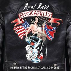 Various Artists - Real Raw Rockabilly [Cd] Uk - Import Rockabilly Artwork, Rockabilly Style, Rockabilly Music, Rockabilly Girls, Pin Up Girls, Arte Zombie, Retro, Pin Up Posters, Garage Art