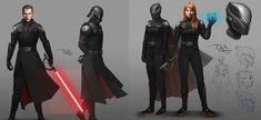 Star Wars Sith, Star Wars Rpg, Darth Starkiller, Galen Marek, Star Wars Planets, Star Wars The Old, Star Wars Design, Comic Art Girls, Star Wars Drawings