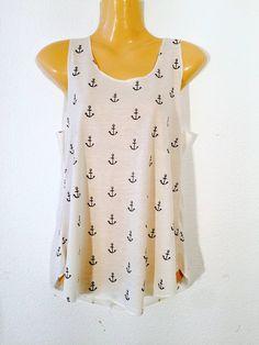Camiseta+anclas+de+PIKMODE+por+DaWanda.com