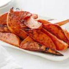 "Baked Sweet Potato ""Fries"" (Ina Garten)"