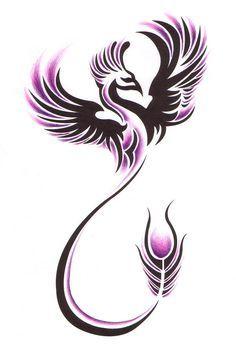 Phoenix tattoo.