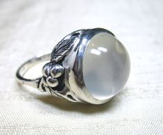 The Midnight End of the Garden Moonstone by LuraJewelry on Etsy, $245.00   oh my dear, I just found the ring of my dreams, how I wish I could justify spending 245.00 on one ring and it would be mine!