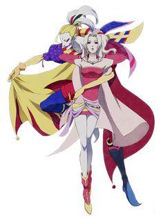 Kefka and Terra