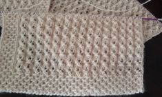 Diy Crafts - This post was discovered by nurten TERZİOĞLU. Knitting Videos, Knitting Stitches, Knitting Patterns, Crochet Patterns, Crochet Shawl, Crochet Top, Learn How To Knit, Texture Design, Stitch Patterns