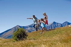 Jump into the autumn in the hiking region of Hohe Tauern and Nockberge Star Family, Austria, Skiing, Autumn, Mountains, Travel, Sports Activities, Family Activity Holidays, Swim