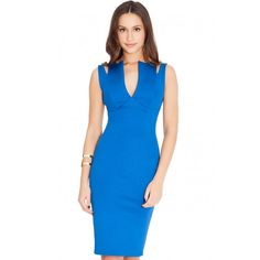 Cut Away Bodycon Dress - £70.00 : Bodycon Dresses | Alices