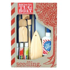 Seedling - Tug Boat The Seedling kits are extra special. This would be perfect bonding time for my son and his dad ❤️ #EntropyWishList #PinToWin