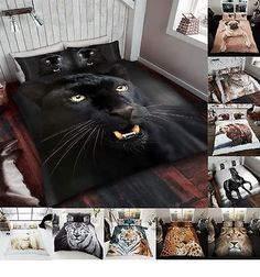 3D-Animal-Print-Effected-Mink-Faux-Fur-Throw-Fleece-Blanket-Soft-Bed-Sofa-Couch