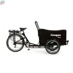Cangoo Travel - Elektrisk sykkel med plan - sort Cargo Transport, Cool Bicycles, Large Dogs, Motorcycle, Bike, Vehicles, Travel, Bicycle, Big Dogs