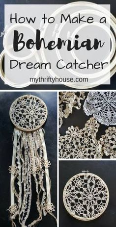 33 Trendy embroidery hoop dream catcher ribbons #embroidery