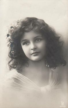 Beautiful vintage girl