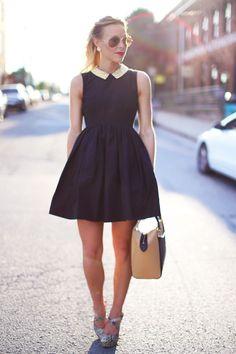 dress, lipstick, sunglasses, kate spade purse - love it all