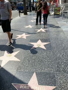 "See 11561 photos and 488 tips from 86145 visitors to Hollywood Walk of Fame. ""Did you know: Many of the performers have multiple stars on the walk,. Hollywood Boulevard, Hollywood Walk Of Fame, In Hollywood, Good Ole, Road Trip, Walking, California, Usa, American"