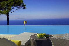 Caesar Augustus Hotel infinity pool - Italy