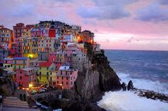 The Cinque Terre is a rugged portion of coast on the Italian Riviera. It is in the Liguria region of Italy,