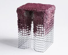 james shaw's recycled paper papier maché stool