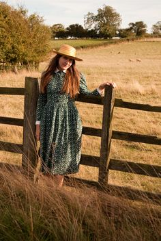 Jane Air Wears Laura Ashley, Vintage Dresses, Hats, How To Wear, Style, Fashion, Vintage Gowns, Swag, Moda