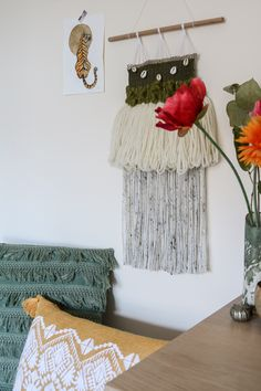 Woven Wall Hanging, Wall Hangings, Olive Green, Shells, Wreaths, Boho, Trending Outfits, Unique Jewelry, Handmade Gifts
