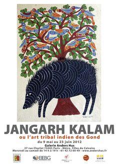 Jangarh Kalam/ Gond Painting