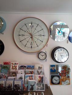 Copper Aviator Clock