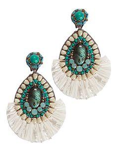 Ranjana Khan Turquoise Detail Earrings