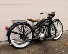 1953 Simplex Automatic Motorcycle For Sale Rear