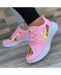 Avia Men's Back Cage Athletic Sneaker is part of Puma shoes women - Puma Shoes Women, Puma Tennis Shoes, Nike Air Shoes, Pink Puma Shoes, Cute Sneakers For Women, Ladies Sneakers, Pink Pumas, Jordan Shoes Girls, Girls Shoes