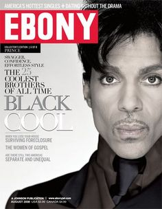 Prince Rogers Nelson — Prince on the cover of Ebony magazine Ebony Magazine Cover, Magazine Covers, Minnesota, Jazz, The Artist Prince, Hip Hop, Jet Magazine, Black Magazine, Dearly Beloved