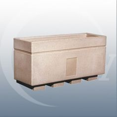 Boundary Planter. Traditional and rectangular in appearance, this floor standing…