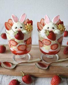 Cute Easter Desserts, Easter Snacks, Easter Dinner Recipes, Easter Brunch, Mini Desserts, Holiday Desserts, Brunch Recipes, Dessert Recipes, Easter Food