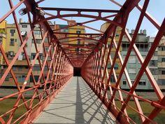 Eiffel Tower Bridge Barcelona Spain Girona