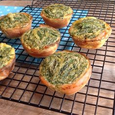 """These cute little guys were a test to see whether smoked salmon would work well as a shell for some mini frittatas. Umm... They are so good! I filled them…"""