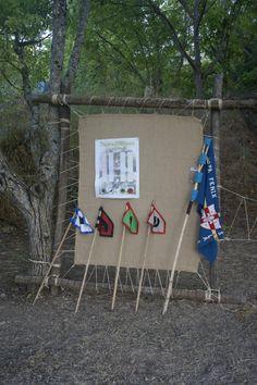 Scout troop board.