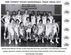 Comedy Store Basketball Team circa 1979