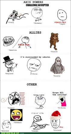 Excuses the language - Hetalia memes - too accurate