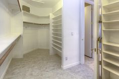 Master Bedroom Closet. Scottsdale Arizona.