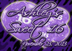 Ashley's Sweet 16