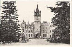 Early postcard of Chateau de Miranda. (later called Chateau de Noisy)