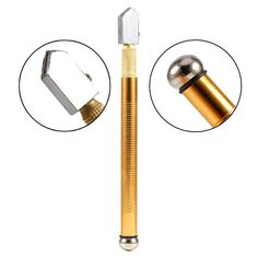 Gold Color Glass Cutter For 6-12mm Glass New Tile Glass Cut Tools High Quality