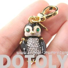 Limited Edition - Adorable Penguin Shaped Animal Pendant Necklace $16.50 #penguin #animals #jewelry #pendant #cute