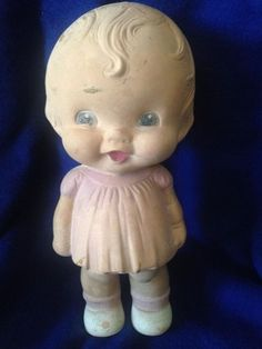 Vintage,Rubber Doll by The Sun Rubber Company of Barberton, OH (06/03/2015)