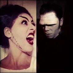 Bride of Frankenstein Makeup Ideas | Thread: Bride of Frankenstein costume tutorial