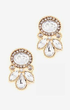 love these stud earrings - so GLAM