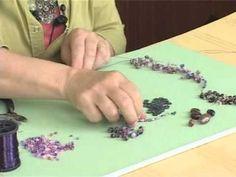 Bahar dalları kolye çalışması - YouTube