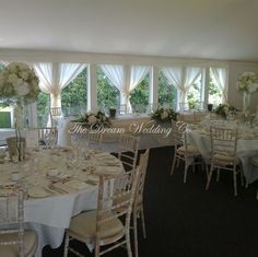Hunton Park - Summer Marquee - Hundreds of Styling Ideas to make your wedding unique to you! Dress It Yourself in Hertford, Herts Hunton Park, Park Hotel, Wedding Venue Decorations, Wedding Venues, Unique Weddings, Wedding Unique, Wedding Ideas, Our Wedding, Dream Wedding