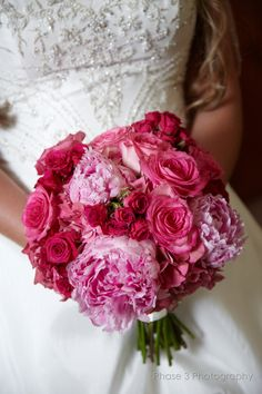 all bridal bouquets made and designed by bridal blooms & creations. #weddings #bouquets #bridalflowers #bridallook #weddingflowers #floraldesign #pinkweddings #peonies #roses #texasweddings #bridalblooms