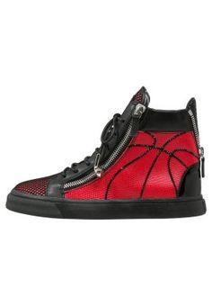 Sneakers alte - fragola