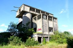 The abandoned chemical factory of Rüdersdorf