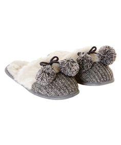 Slippers pompom